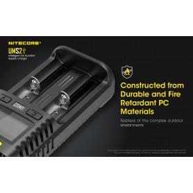 NITECORE - Nitecore UMS2 USB battery charger - Battery chargers - NK491