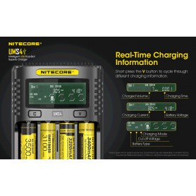 NITECORE - Nitecore UMS4 USB battery charger - Battery chargers - NK492