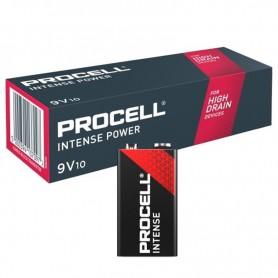 10x PROCELL Intense Power 9V (Duracell Industrial) Alkaline E-Block / 6LP3146