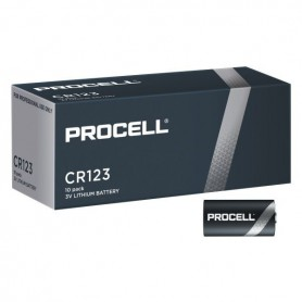 Duracell - 10x Procell CR123 3V lithium battery - Other formats - BS474
