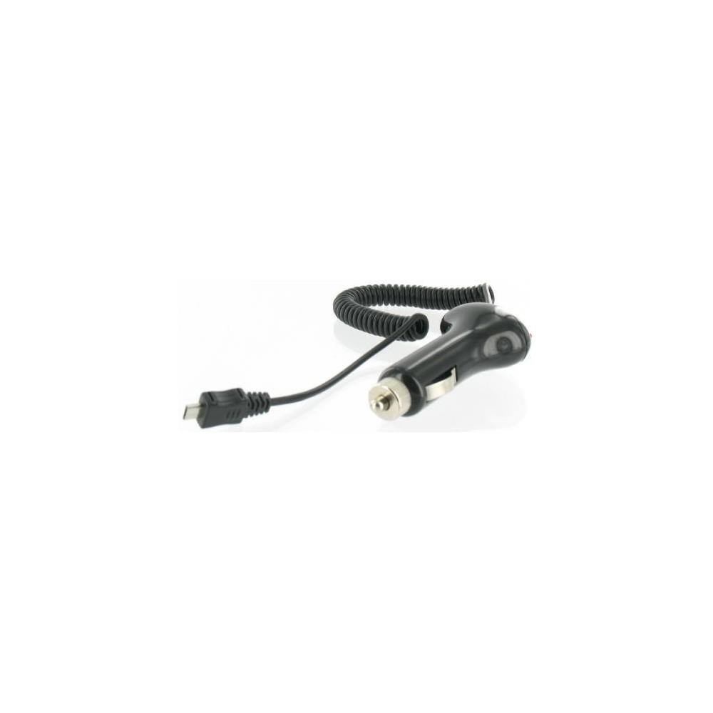 Micro USB Auto Oplader (Zwart) 00496
