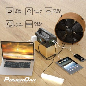 PowerOak - PS5B PowerOak 400Wh portable energy storage system - Energy storage - PS5