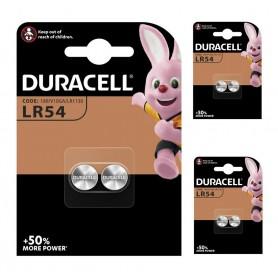 Duracell - Duracell G10 / LR54 / 189 / AG10 button cell battery (Duo Blister) - Button cells - NK264-CB