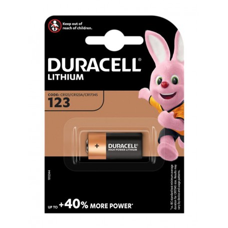 Duracell, Duracell CR123 CR123A Lithium Blister Pack, Other formats, NK223-CB