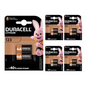 Duracell - Duracell CR123 CR123A 3V Lithium battery (Duo Pack) - Other formats - BS098-CB