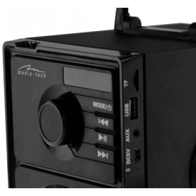 Media-Tech - BOOMBOX BT MT3145 Bluetooth Station MP3 FM-radio Aux TF - Speakers - MT3145