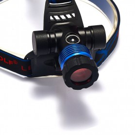 unbranded, 600Lm XM-L T6 TIGER WOLF White Red Blue Green Yellow LED Headlight, bicycle lamp with bicycle handlebar bracket, F...