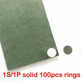 Oem, 18650 1S/1P Insulation paper Gasket Battery Pack Cell Insulating Glue Patch Insulation pads, Battery accessories, AL1097...