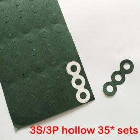 Oem, 18650 3S/3P Insulation paper Gasket Battery Pack Cell Insulating Glue Patch Insulation pads, Battery accessories, AL1097...