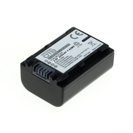 OTB, Battery for Sony NP-FV50 6.8V 650mAh 4.42Wh, Sony photo-video batteries, ON2803
