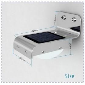 Oem, Solar 16 LED outdoor Lamp Lighting with motion sensor, DIY Solar, AL1098-SL