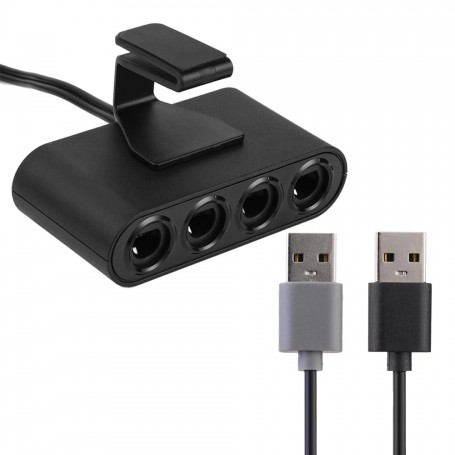 unbranded, GameCube Controller Adapter for Wii, Nintendo Wii U, YGN920