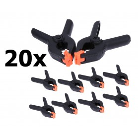 Oem, 20x Market Clamps - DIY Glue Clamp - Market Clamp - Sail Clamp, Other tools, AL1100-00