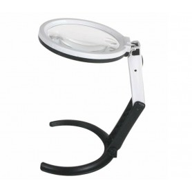Oem, Dual-purpose Magnifying Table Lamp - Magnifier Glass Lens Loupe with 12x Power LED, Magnifiers microscopes, AL1101-00