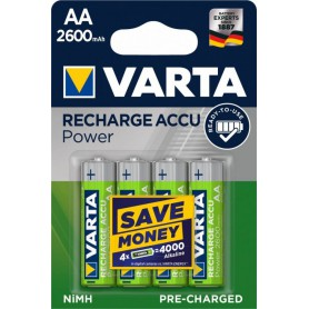 Varta Rechargeable Battery AA HR6 2600mAh