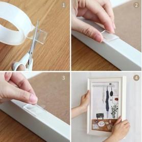 unbranded - Magic Tape - Nano tape - Reusable - Double sided tape - Magic nanotape - Mounting - Gekko grip - Other tools - AL...