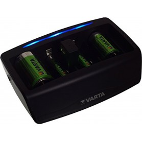 Varta, 5h VARTA NiMh AAA / AA / C / D / 9V Battery Charger, Battery chargers, BS489