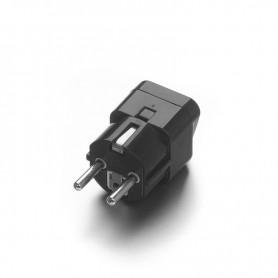 Oem, US AU UK to EU Black - Universal Travel Plug Adapter Converter, Plugs and Adapters, EP0015