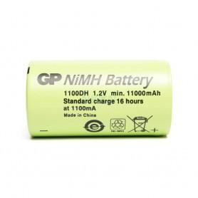 GP - GP GP1100DH 11000mAh D / HR20 Flattop Ni-Mh - Size C D and XL - NK508