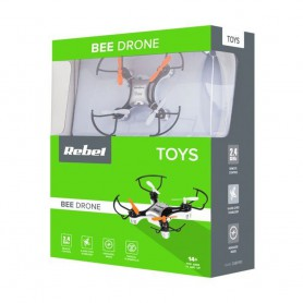 Rebel TOYS, Rebel BEE DRONE 6-axis gyro stabilizer Aerial acrobatics, DRONE, H6514