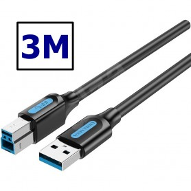 Vention - VENTION USB 3.0 A Male to B Male cable - USB 3.0 cables - VENT-2022-CB