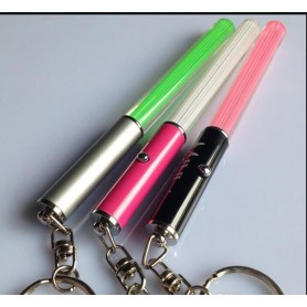 Oem - Mini LED LightSaber keychain - Flashlights - LED06041-CB