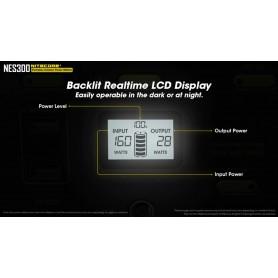 NITECORE - NITECORE NES300 Portable Outdoor Powerbank Powerstation 311Wh 86400mAh AC DC USB Output - Energy storage - NES300