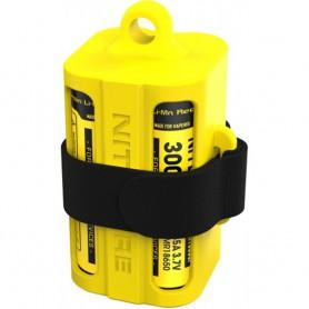 NITECORE - Nitecore NBM40 18650 Travel Silicon Case holder Magazine - Battery accessories - BS009-CB