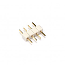 Oem, 10x 10mm 4pin Male-Male RGB LED Strip Connector, LED connectors, LSC47