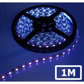 Oem, UV Ultraviolet 12V Led Strip 60LED IP65 SMD5050 - Black PCB, LED Strips, AL236-UV-CB