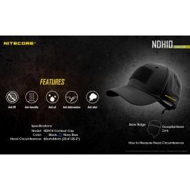 NITECORE, Nitecore NDH10 Combat Cap, Various computer accessories, MF-NDH10