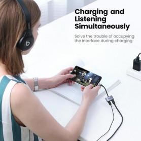 UGREEN, UGREEN USB-C to USB-C Adapter + USB-C Charging port, Audio adapters, UG-60165-CB
