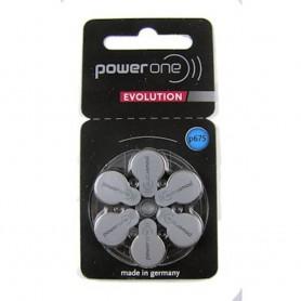 Varta - PowerOne EVOLUTION P675 675 PR44 - Made in Germany - Hearing batteries - PO675E-CB