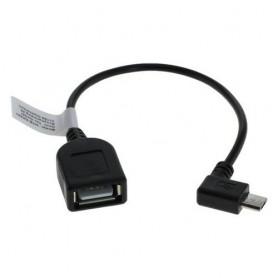 Micro USB Adapterkabel OTG voor Smartphones Tablets Camcorders