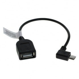 Micro USB OTG Cable Adapter for Smartphones Tablets Camcorders