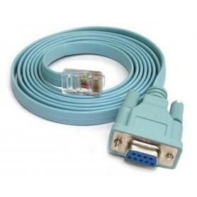 Cablu RJ45 la RS232 COM Port Serial DB9 Female 1.5M AL555