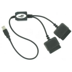 Duo Converter adapter voor Playstation 1 en PS2 naar PC