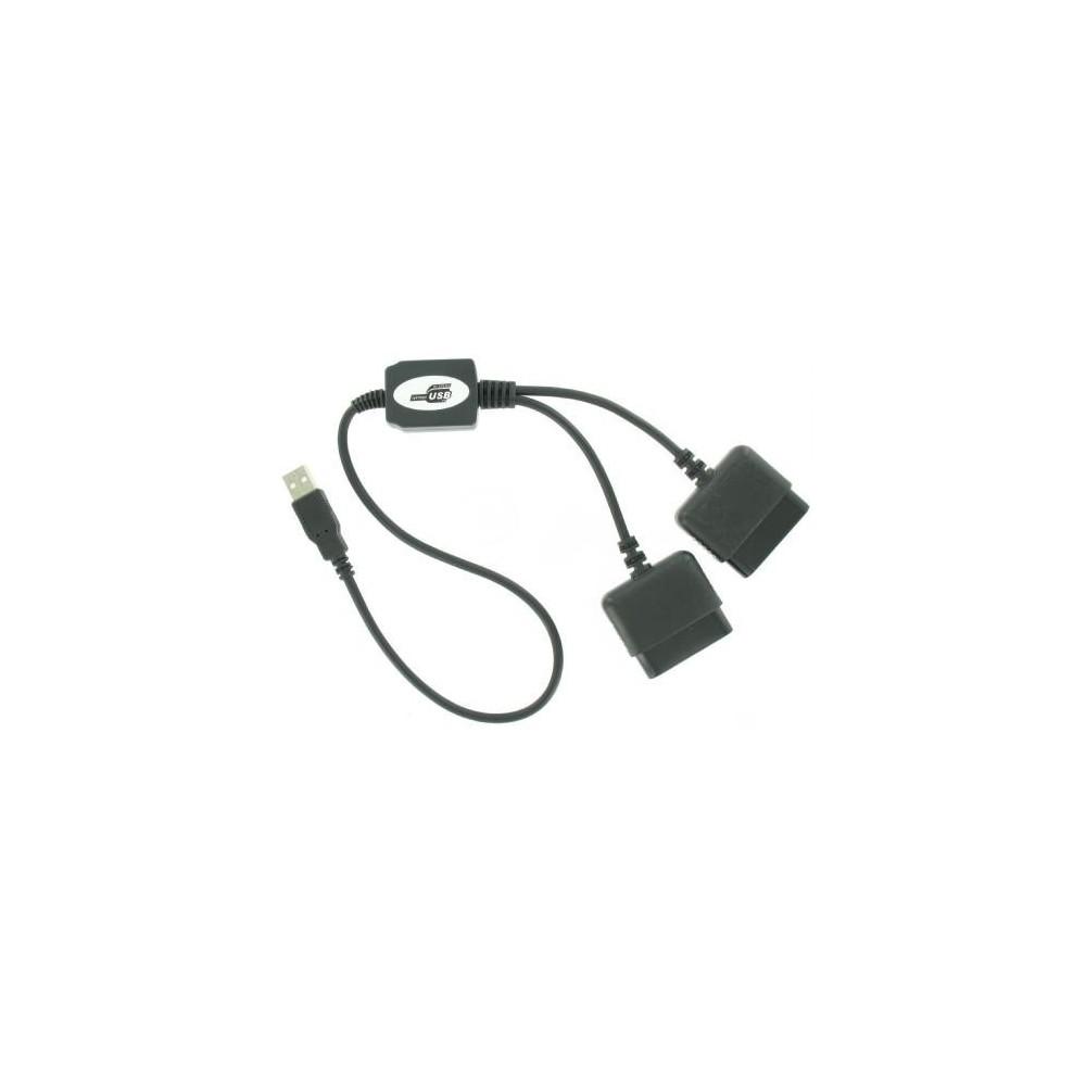 Duo Converter adapter voor Playstation 1 en PS2 naar PC YGU004