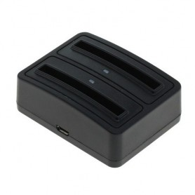 OTB - Dual Battery Chargingdock for Galaxy S III i9300 / EB-L1G6LLA - Ac charger - ON3003-C www.NedRo.us