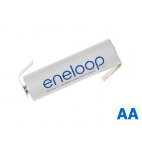 Eneloop - Panasonic Eneloop AA HR6 R6 battery with Z-tags - Size AA - NK003-1x www.NedRo.us