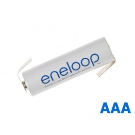 Eneloop - Panasonic Eneloop AAA R3 battery with tags - Size AAA - NK004-Z www.NedRo.us