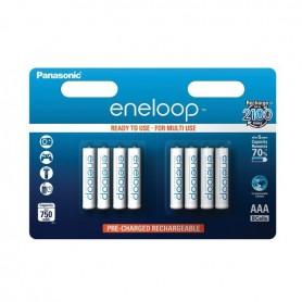 8x AAA R3 Panasonic Eneloop Oplaadbare Batterijen