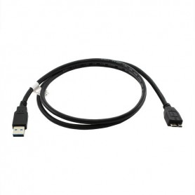 OTB, Data Cable USB-3 A to Micro-USB B Black 1M, USB 3.0 cables, ON2109, EtronixCenter.com
