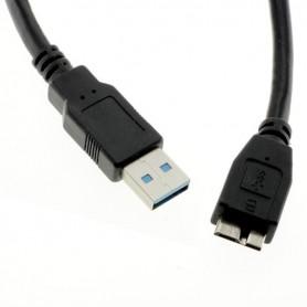 OTB, Cablu date USB-3 A la Micro-USB B Negru 1M, Cabluri USB 3.0, ON2109, EtronixCenter.com