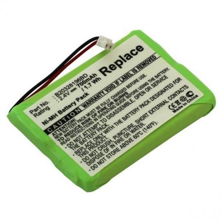 OTB, Battery for DeTeWe Aastra NiMH 700mAh, Cordless Phone Batteries, ON2152