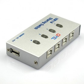 NedRo, 4 Port USB2.0 USB Hub Auto Sharing Switch Box AL140, Ports en Hubs, AL140, EtronixCenter.com