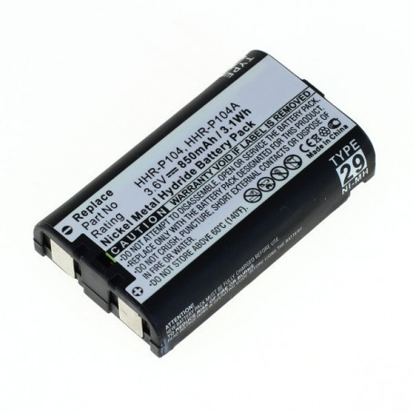 OTB, Battery for Panasonic HHR-P104 NiMH, Cordless Phone Batteries, ON2197