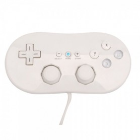 Classic Game Controller for Nintendo Wii White YGN588