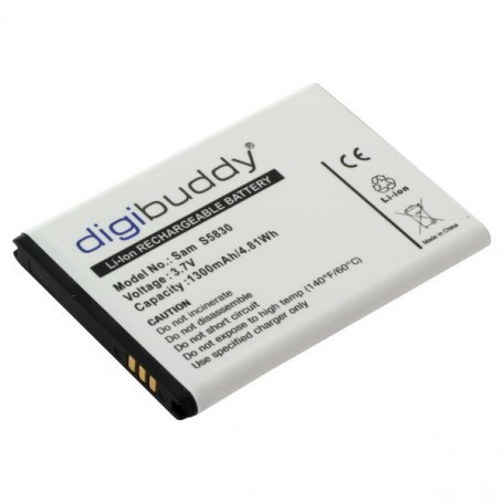 OTB - Battery for Samsung Ace S5830/Gio S5660 - Samsung phone batteries - ON2215 www.NedRo.us