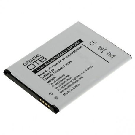OTB, Accu voor Samsung Galaxy S4 Mini 1900mAh 3.7V, Samsung telefoonaccu's, ON2227, EtronixCenter.com